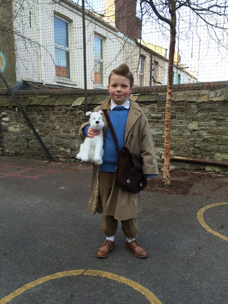 Tintin - World book day costume