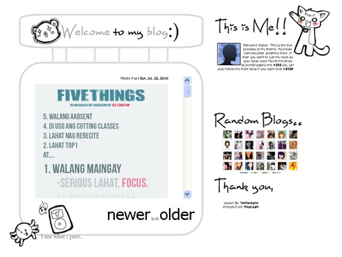Tumblr Themes - Free Tumblr Layout | Tutorials