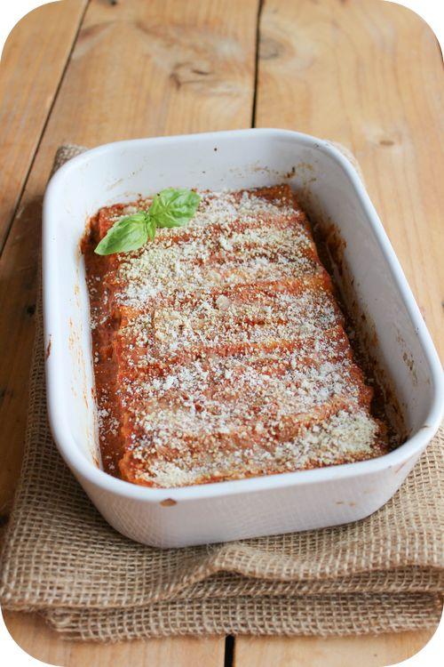 Cannelloni aux courgettes et à la ricottanull