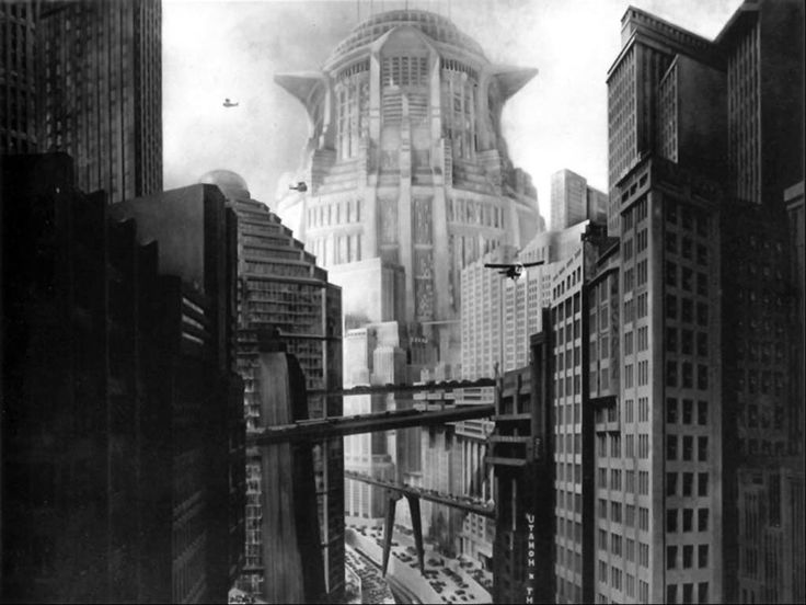 Tower of Babel / Metropolis: Silent Film, Towers Of Babel, Fritz Lang, For The Future, Modern Architecture, Gothic Architecture, Artdeco, Art Deco,  Prison House