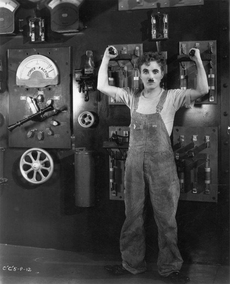 Charlie Chaplin, Modern Times (1936)