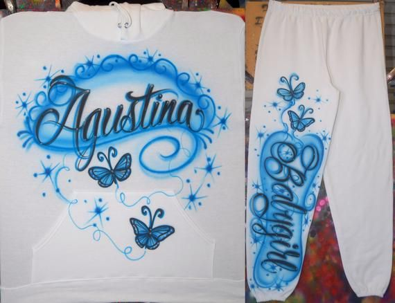 Streetwear Custom Orders Custom Airbrush Airbrush Fashion