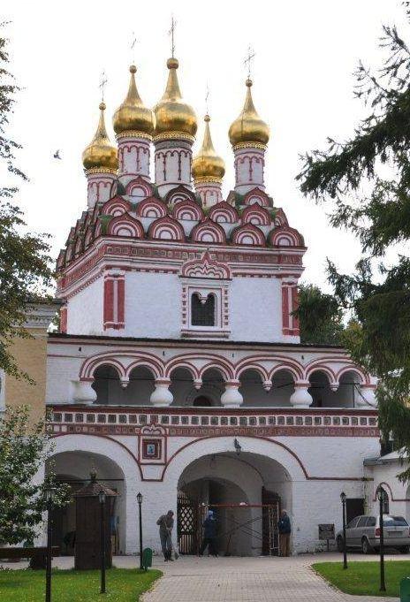 Золотое кольцо - Волоколамск —Иосифо-Волоцкий монастырь в Теряево