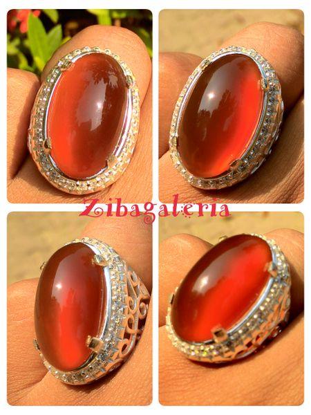 Produk menarik dari Bukalapak nih!  Super Red Raflesia | CN0029 | Malaysia Silver Ring Size 8