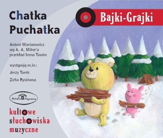 "Bajki-Grajki nr 25 ""Chatka puchatka""    Ilustracja: Monika Suska  www.bajki-grajki.pl"