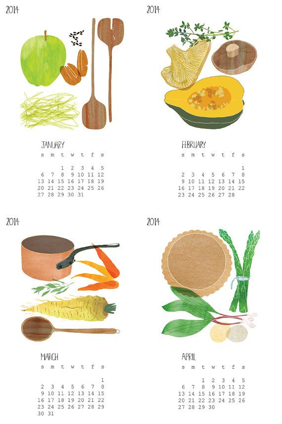 For the locavore: a calendar that celebrates buying local.