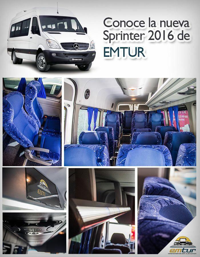 Mercedes sprinter 2016 capacidad 20 pasajeros  Asientos individuales  Viaja VIP ** viaja con nosotros