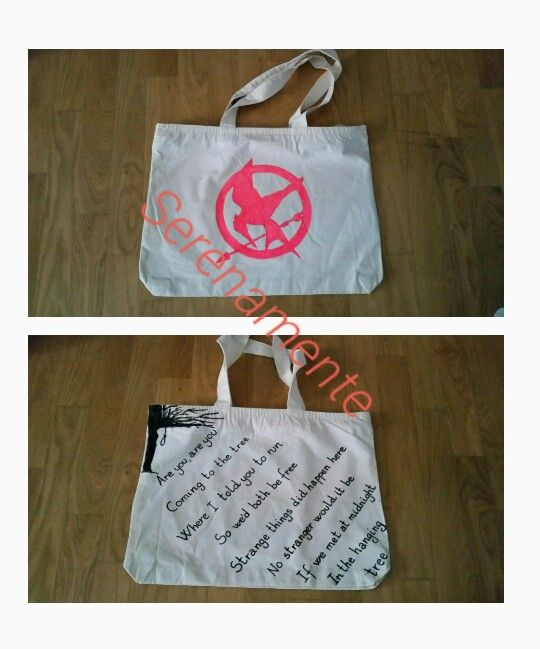 Hunger games bag for Valentina
