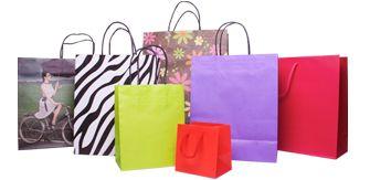 Stock Bags - Vibrant Colours & Retro Designs.