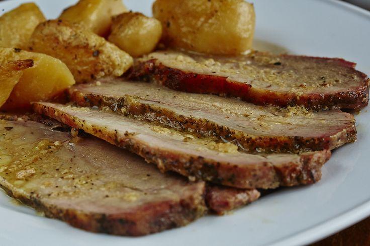 Χοιρινό φούρνου με πατάτες | Oven pork with potatoes