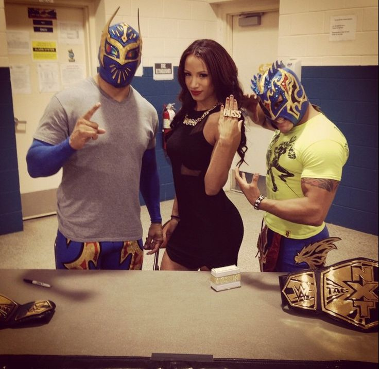 The Lucha Dragons & The Boss | Wrestling | Pinterest ...