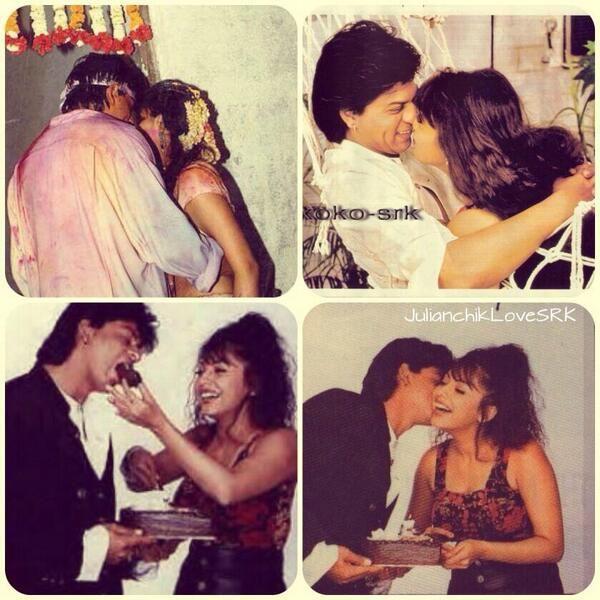 Embedded image permalink-Shah Rukh and Gauri.