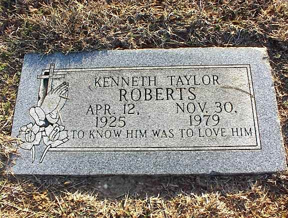 Kenneth Taylor Roberts (1925 - 1979) - Find A Grave Photos