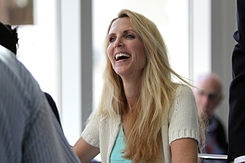 Controversial political commentator and social critic Ann Coulter's style has been described as outrageous.