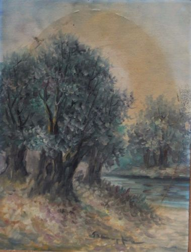 Olive-tree-Greek-painting-oil-on-canvas-size-18-cm-x-25-cm