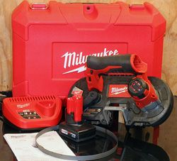 milwaukee cordless handheld band saw review