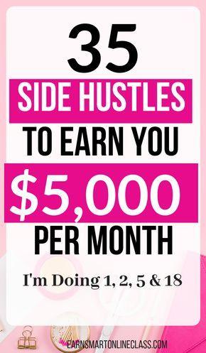 35 Best Ways to Make Extra Money Now – Nicole Hamann