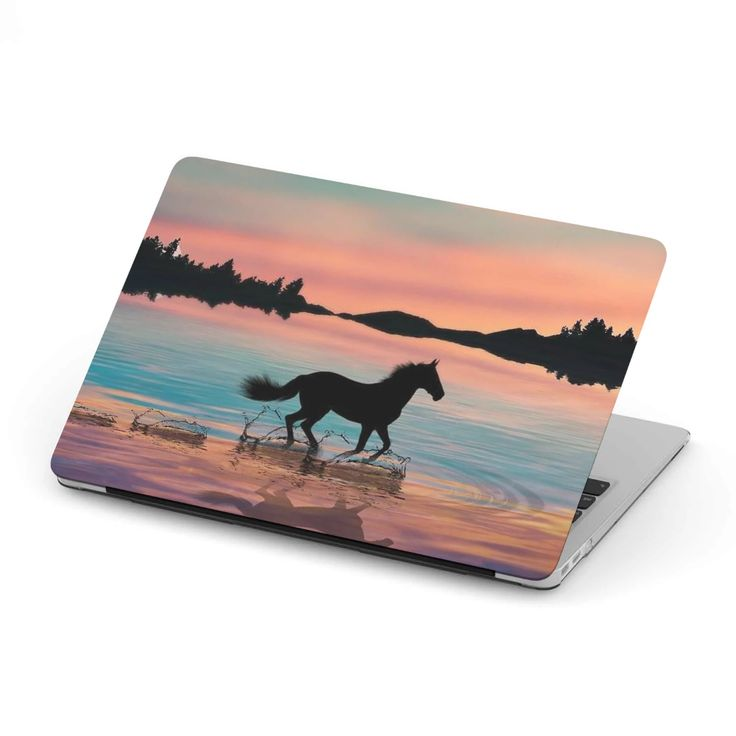 MacBook Case for Horse Lovers 01
