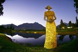 Sculpture at Saaronsberg Wines, Tulbagh, South Africa