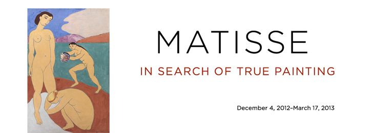 Matisse at the Met in NYC until March 17th...worth it!