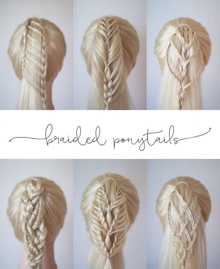 Braided Ponytails | Cute Girls Hairstyles
