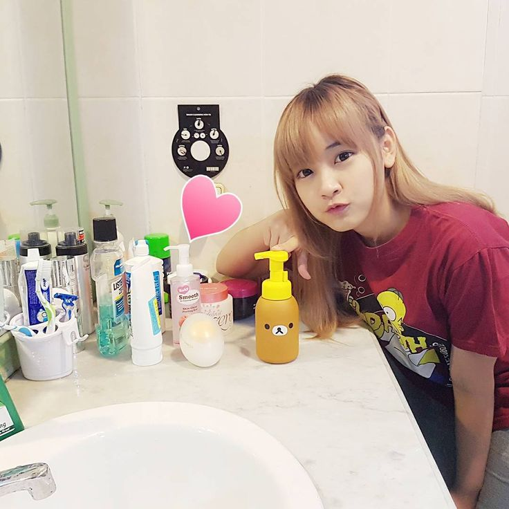 """6,029 Likes, 49 Comments - Mutiara Donna Visca (@donnavisca) on Instagram: """"Adding this super cute A'PIEU Rilakkuma Bubble Cleansing foam to my cleansing routine collection.…"""""""