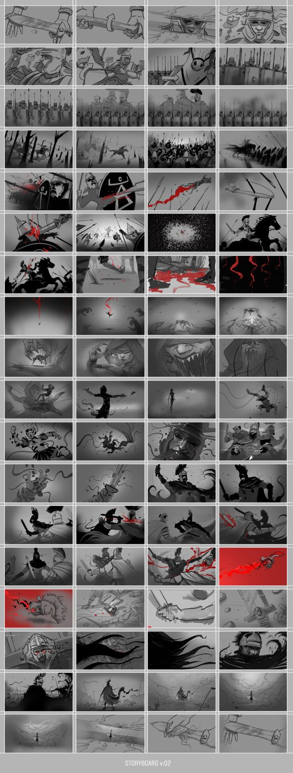 Ryse: Son of Rome cinematic by Platige Image , via Behance