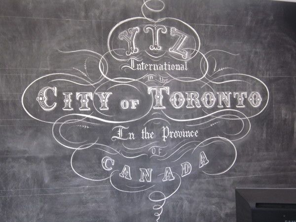 Map Wall, Toronto by Letters In Ink , via Behance