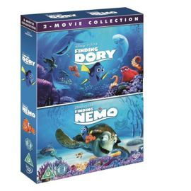 Tesco direct: Finding Dory/Finding Nemo Double Pack DVD