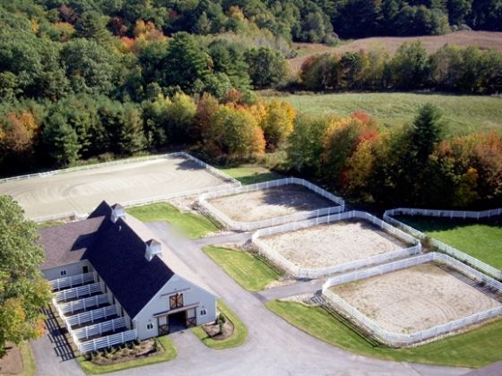 Fable Hill Farm. LIGHT BULB! Three seperate arenas! So kids can have some privacy with their instructor and not have to share the arena and worry about someone else getting in the way OR being in the way!
