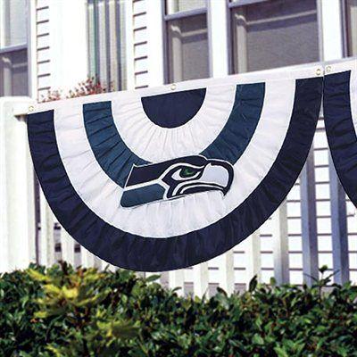 Seattle Seahawks Team Logo Bunting $29.95