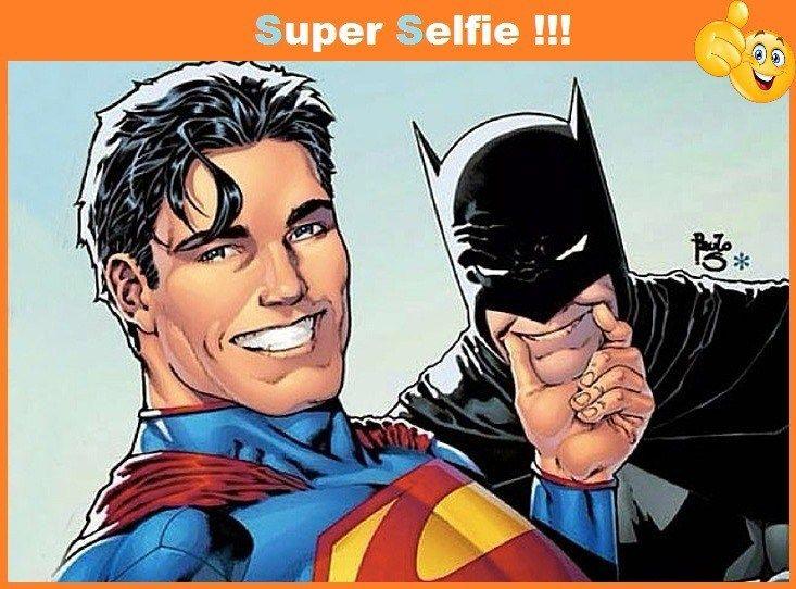 Batman V Superman Hilarious Selfie MEMES - http://picsdownloadz.com/funny-pictures/batman-v-superman-hilarious-selfie-jokes-memes/