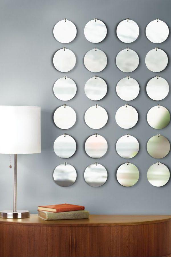 Creative Round Mirror Wall Decor Ideas Picture Mirror Decor Mirror Wall Bedroom Dorm Wall Decor