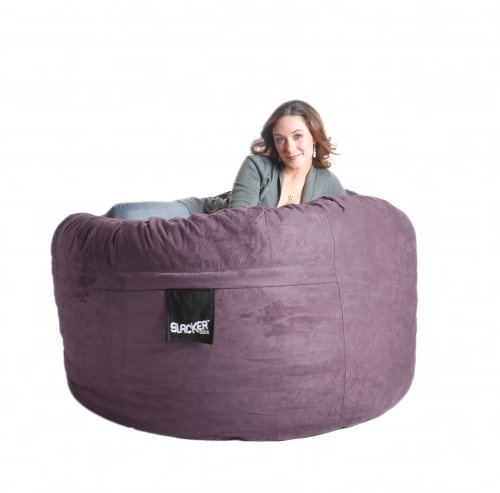 SLACKER sack foam bean bag chairs are the most comfortable