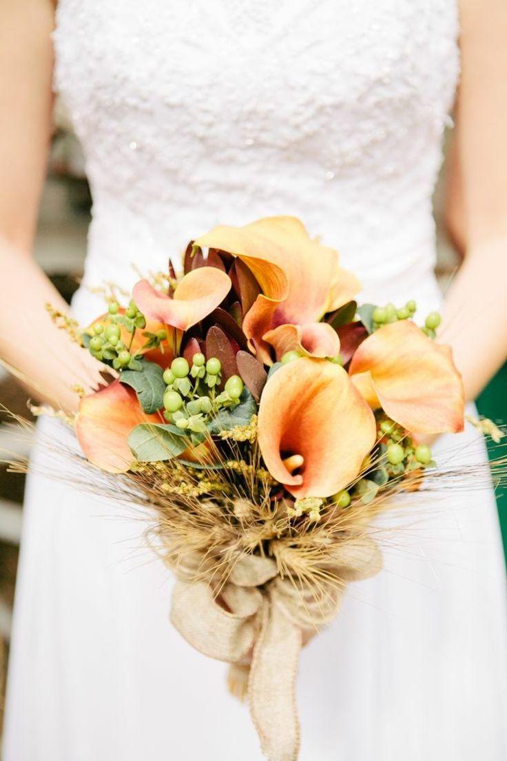 fleurs et mariage : bouquet d'automne