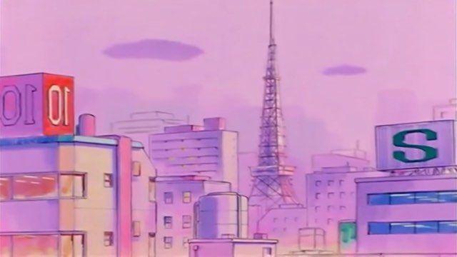 Aesthetic Vaporwave Sailor Moon Aesthetic Sailor Moon Background Anime Scenery