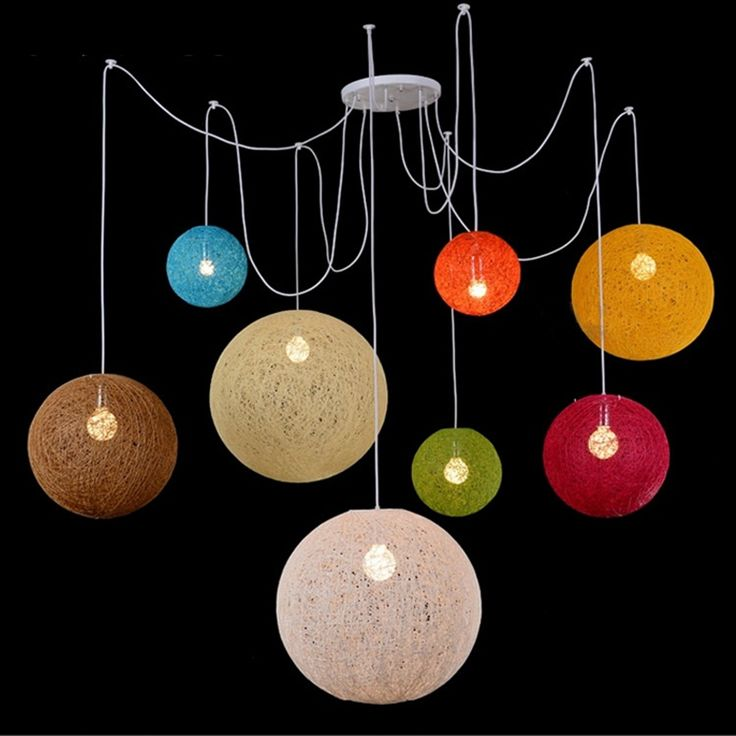 Aliexpress.com : Buy 40cm Country Simple Modern Restaurant lamp, Pastoral Drop Light Rattan Lamp Shade , Handmade Hemp Ball Chandelier from Reliable ball suppliers on Shenzhen M-Home Co. Ltd  | Alibaba Group