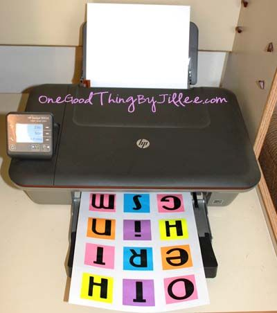 Printing on to Post-It notes - who would've gussed?