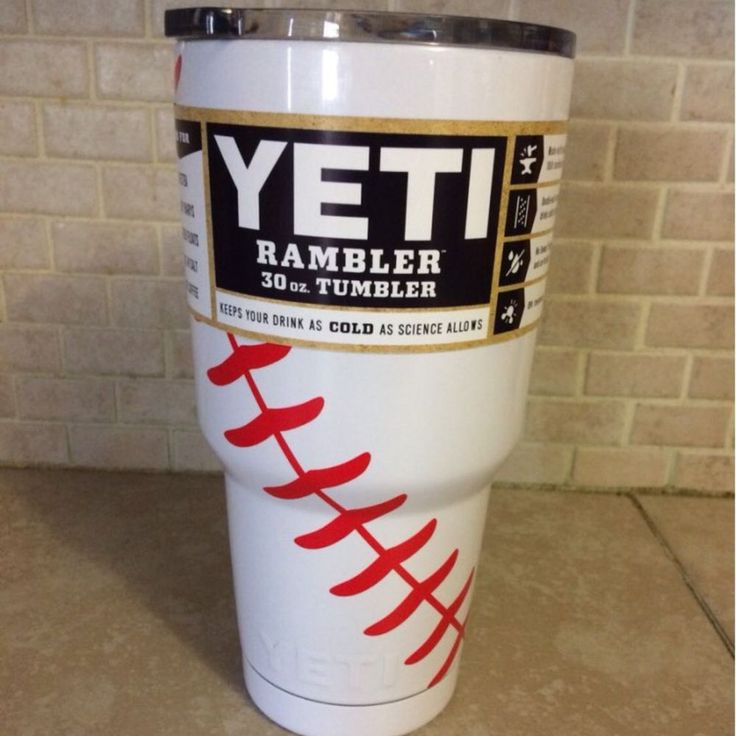 30oz Personalized Baseball Yeti    eBay