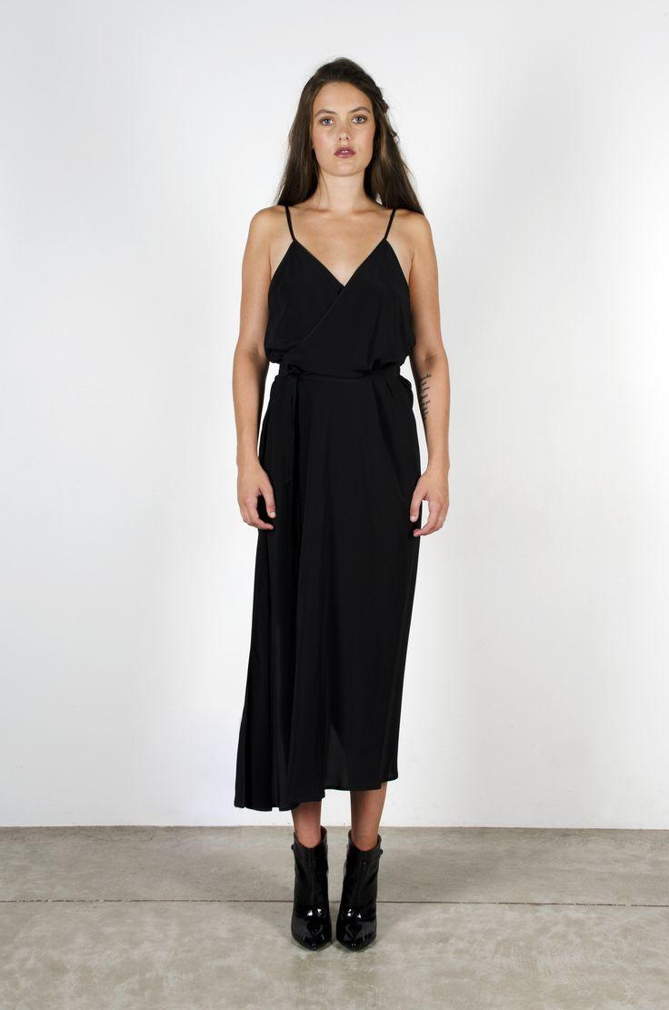 Summertime Dress Black – Miss Crabb