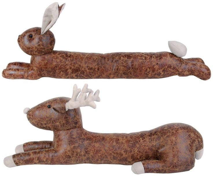 These animal draught excluders are ideal for keeping that cold winter weather outside and preventing draughty areas around the doors in your home.