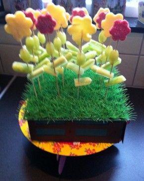 Grassig groentengroen