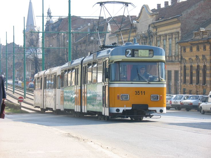 Romania The Timisoara Tramway