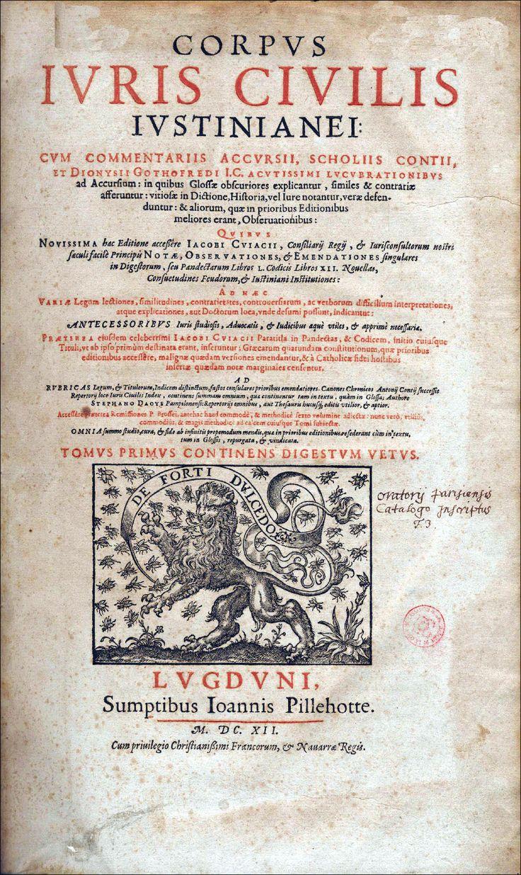 Corpus Juris Civilis Iustinianei
