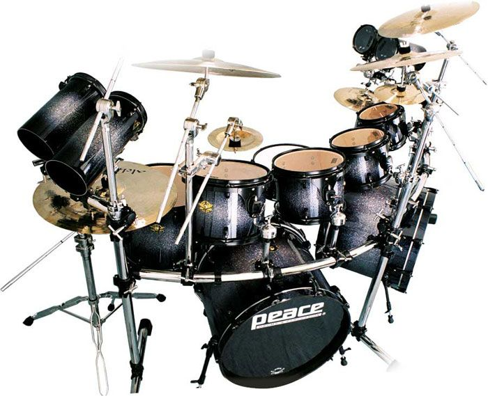 Products | Peace Drums And Percussion | Drumsets | Dna Maple Drums ...