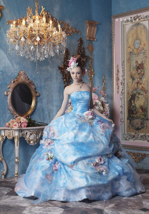 Stella De Libero, magnificent, regal, beyond gorgeous, one of her best designs, love fabric and colouring