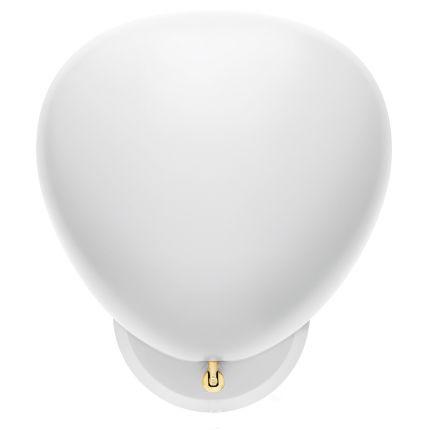 grossman lighting. cobra wall lamp matte white greta grossman horne lighting f