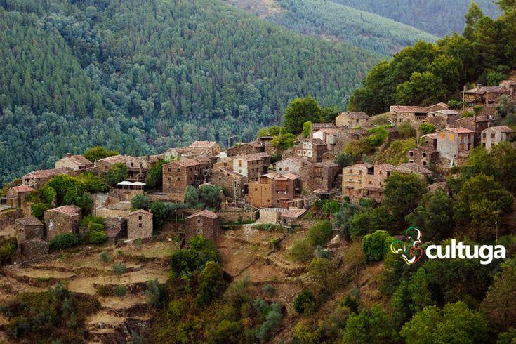 Talasnal, aldeia do Xisto, Serra da Lousã, em Portugal.