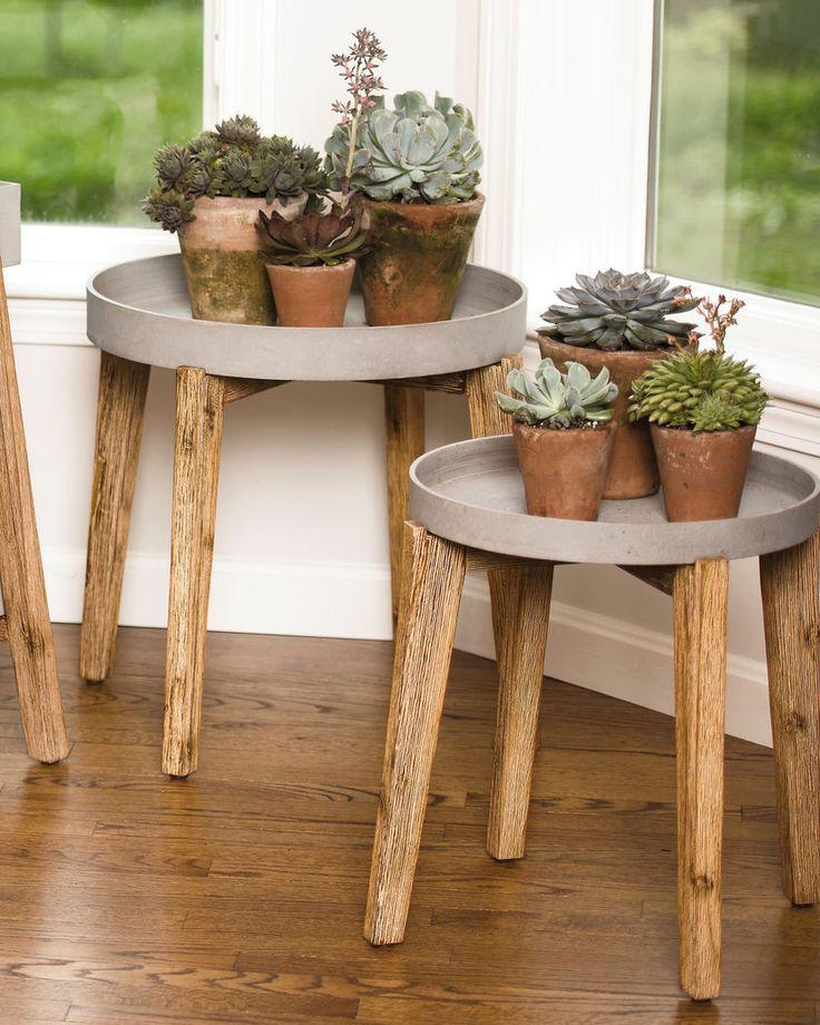 Best 25+ Wooden plant stands ideas on Pinterest   Wooden ...