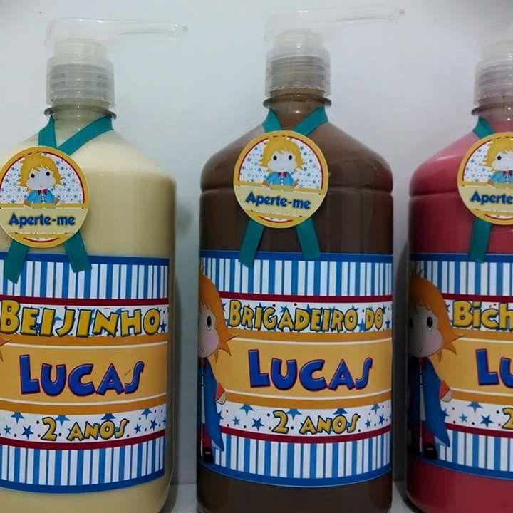 Jato de Brigadeiro 1 litro  produto perecivel  durabilidade 20 dias  Garrafa com adesivo vazia 10,00 1 litro cada  Garrafa vazia 1/2 litro 8,50 cada  somente vendo no sedex,para fora de sp